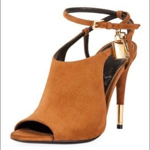 Tom Ford Open Toe Bootie Size 8.5